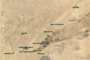 מפה 2 תחנות הר-הנגב