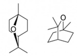 נוסחת המבנה של צינאול cineole