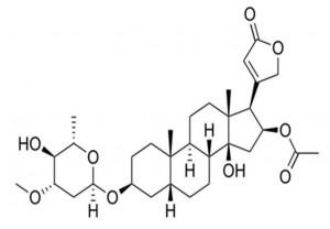 נוסחת מבנה של Oleanderin