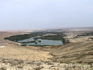 רכס ירוחם ואגם ירוחם. צילום: גדי פולק ©