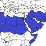 תמונה 10 - מפת תפוצה עולמית של חבלבל שרוע