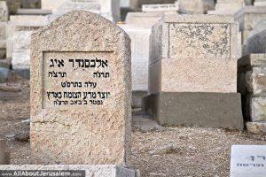קברו של אלכסנדר איג בהר הזיתים, ירושלים