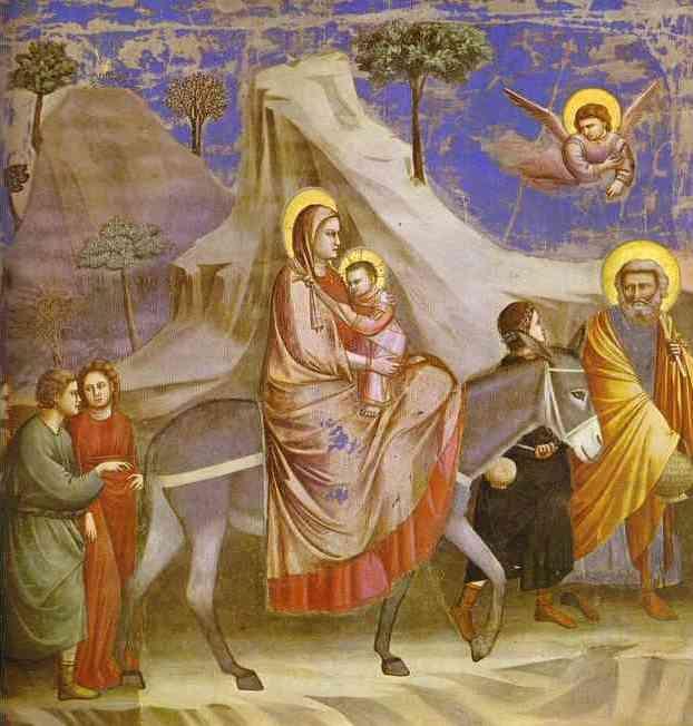 הירידה למצרים (Giotto 1313)