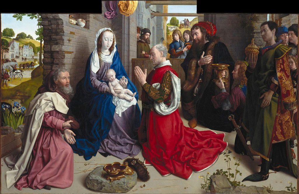 הערצת המאגים (Hugo Van der Goes 1470/75)