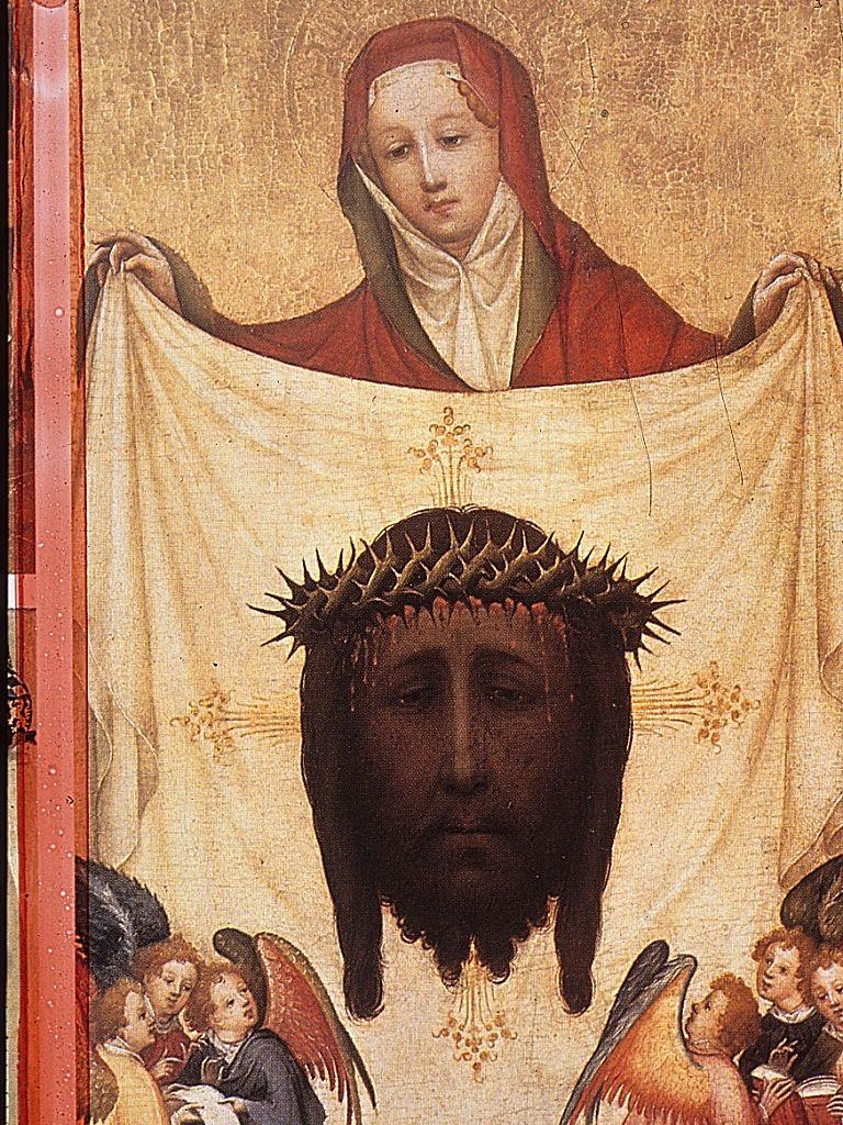 ורוניקה הקדושה והמטפחת עם דיוקנו של ישוע Master of Saint Veronica 1420