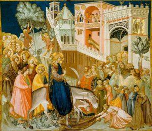 כניסת ישוע לירושלים Pietro Lorenzetti 1320