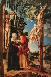 ישוע על הצלב (Lucas cranach 1532)