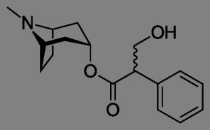 מבנה המולקולה של אטרופין