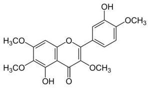 קסטיצין - מבנה המולקולה