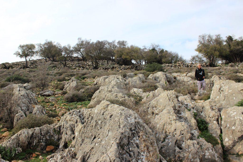 נוף סלעים בחורבת עירב. צילם: איתן שפירא ©