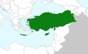 מפת התפוצה של צלבית רעופה (לפי אתר GBIF)