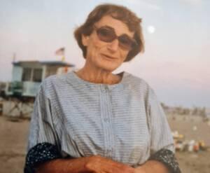 אורה הורוויץ בצעירותה כחוקרת צעירה